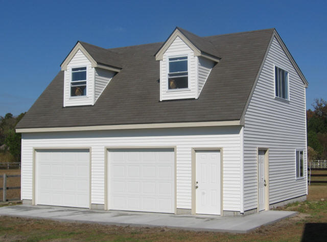 Garage 24x30 custom building systems for Double story garage