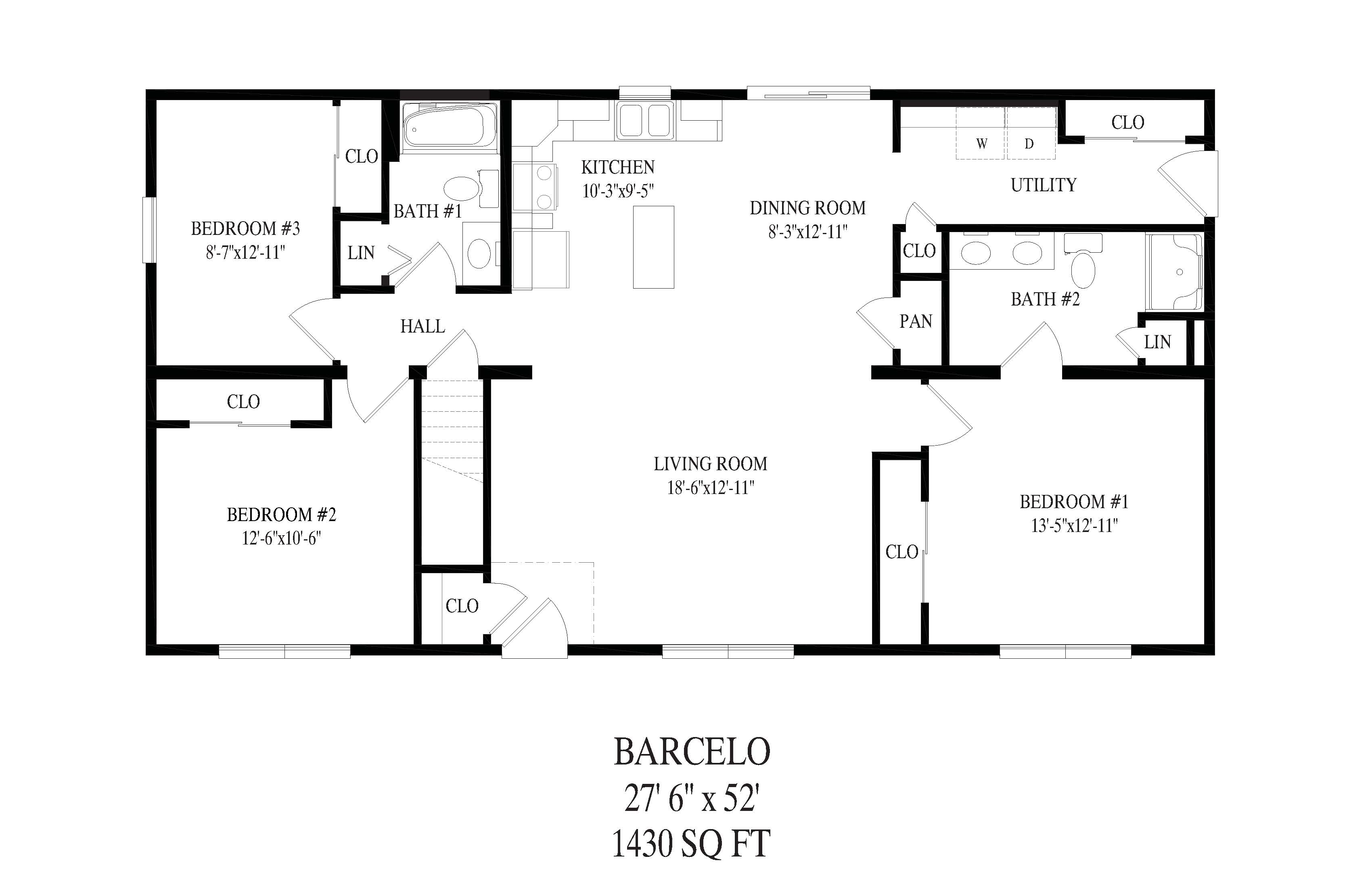 this http://custombuildingsystems.net/wp-content/uploads/2018/06/Barcelo-floor-plan.jpg